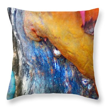 Throw Pillow featuring the digital art Ganesh by Richard Laeton