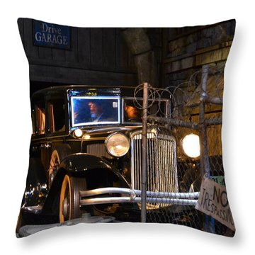 Gangsters Throw Pillow
