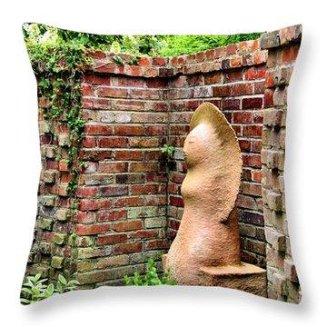 Garden Art Throw Pillow by Kristin Elmquist
