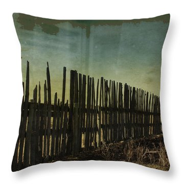 Garden Of Thirst  Throw Pillow by Empty Wall