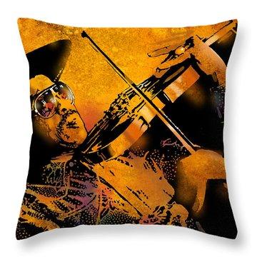 Gatemouth Throw Pillow by Paul Sachtleben