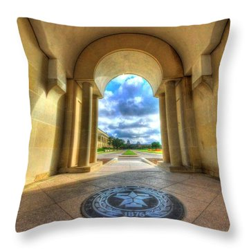 Gateway To A New Life Throw Pillow