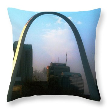 Gateway To The West 2 Throw Pillow