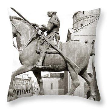 Gattamelata (1370-1443) Throw Pillow by Granger