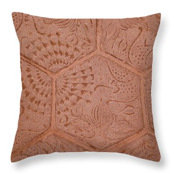 Gaudie Pavement Throw Pillow by Sheep McTavish
