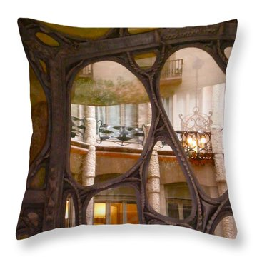 Gaudie Window Throw Pillow by Sheep McTavish