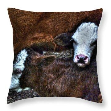Gemini Throw Pillow by William Fields