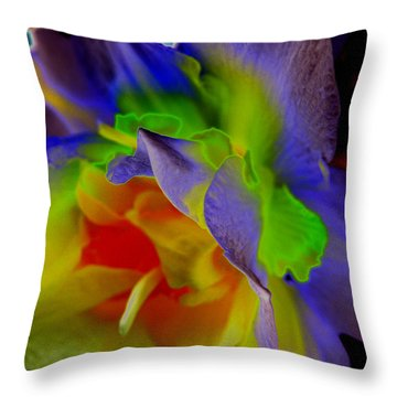 Gentle Strength Throw Pillow