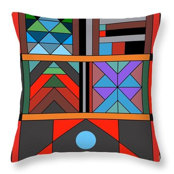 Geometric 2 Throw Pillow