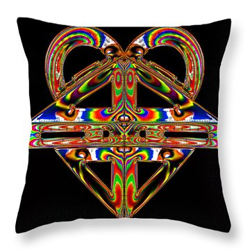 Throw Pillow featuring the photograph Geometry Mask by Steve Purnell
