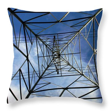Geometry Throw Pillow by Nina Fosdick