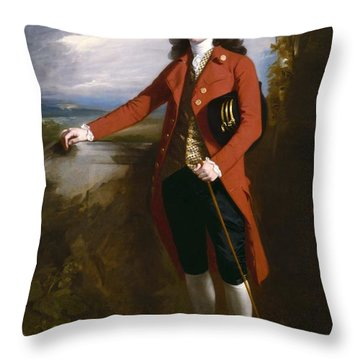 George Boone Roupell Throw Pillow by John Singleton Copley