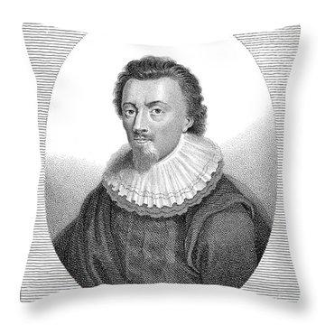 George Calvert Throw Pillow by Granger