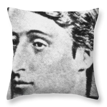 Gerard Manley Hopkins Throw Pillow by Science Source