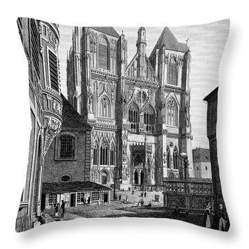 Germany: Regensburg, 1823 Throw Pillow by Granger