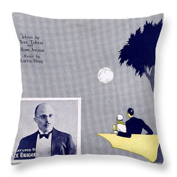 Get Out And Get Under The Moon Throw Pillow by Mel Thompson