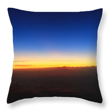 Getting Dark Throw Pillow by Catie Canetti