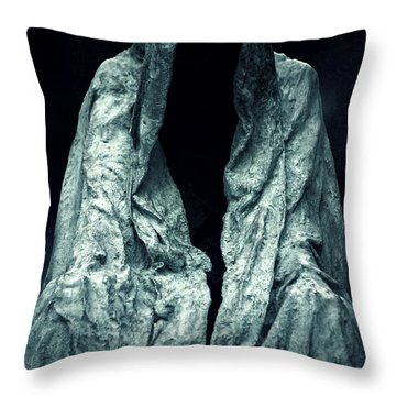 Ghost Throw Pillow by Joana Kruse
