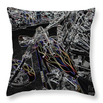 Ghost Rider 2 Throw Pillow