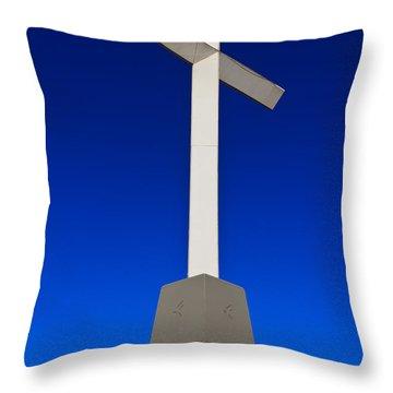 Giant Cross Throw Pillow by Doug Long