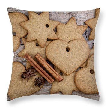 Ginger Throw Pillows