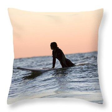 Lake Michigan Throw Pillows