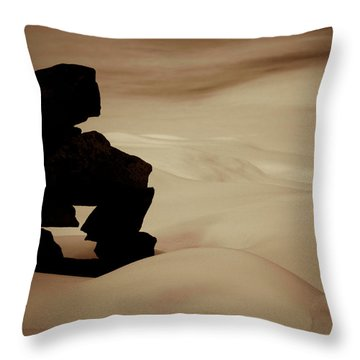 Given To The Luck Throw Pillow by Jerry Cordeiro
