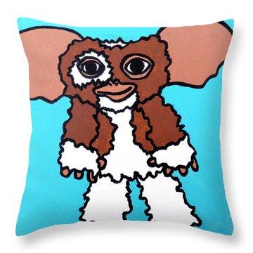 Gizmo Throw Pillow by Jera Sky