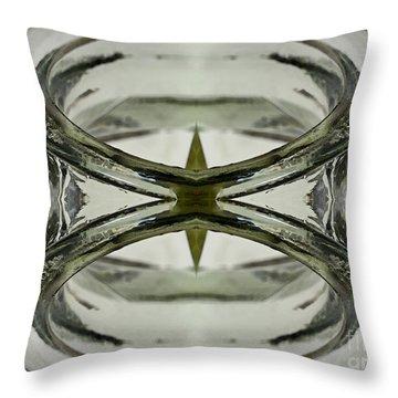 Glas Art Throw Pillow by Heiko Koehrer-Wagner
