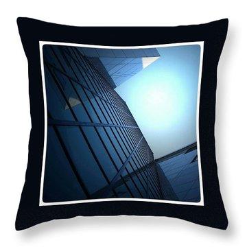 Glassy Sun Throw Pillow