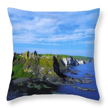 Glenarriff Falls, The Antim Glens, Co Throw Pillow by The Irish Image Collection