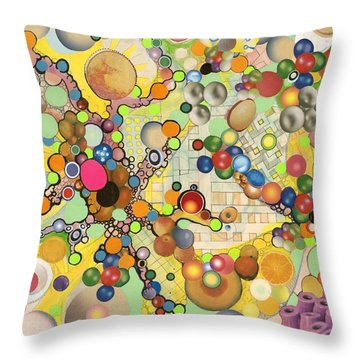 Globious Maximous Throw Pillow by Douglas Fromm