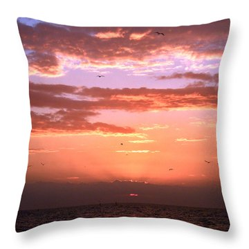 Throw Pillow featuring the photograph Glorious by Brian Wright