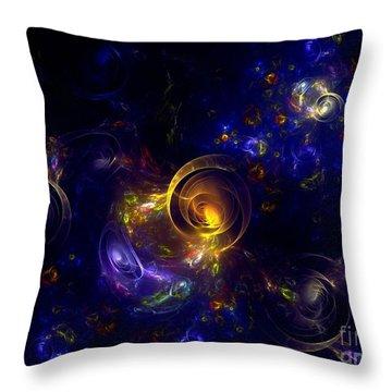 Glorious Univers Throw Pillow