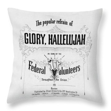 Glory, Hallelujah Throw Pillow by Photo Researchers