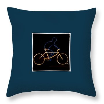 Bicycle Throw Pillows