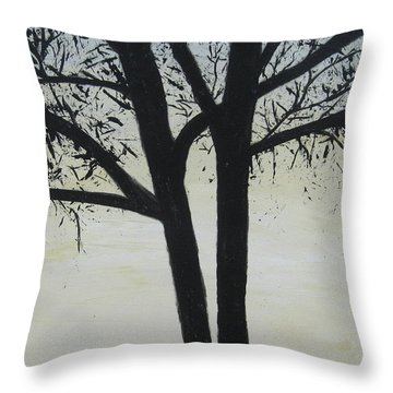 God Whispers Throw Pillow