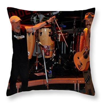 Gogol Bordello 1 Throw Pillow by Anjanette Douglas