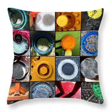 Goin' In Circles Throw Pillow