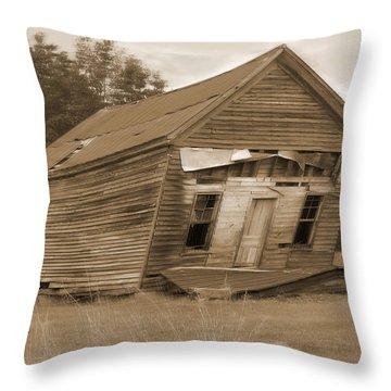 Going Down Throw Pillow by Mike McGlothlen