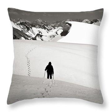 Going Forward Throw Pillow by Konstantin Dikovsky