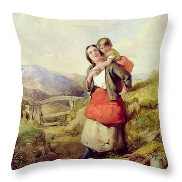 Going Home Throw Pillow by William Lee