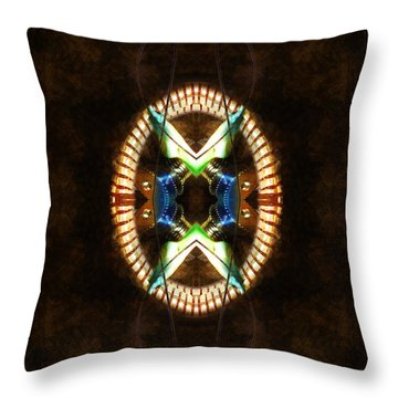 Going In For The Cut Throw Pillow by Adam Vance