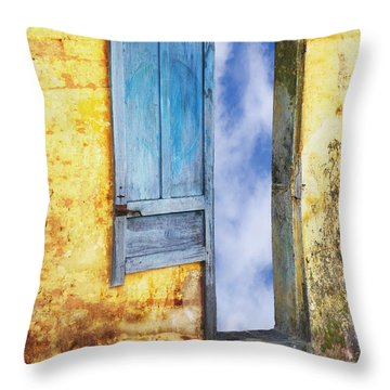 Going In Throw Pillow by Skip Nall