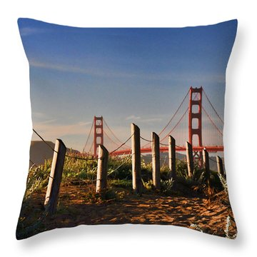 Golden Gate Bridge - 2 Throw Pillow