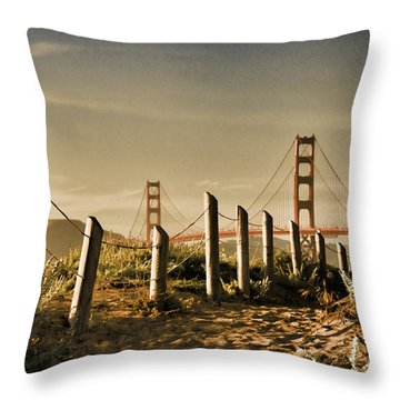 Golden Gate Bridge - 3 Throw Pillow