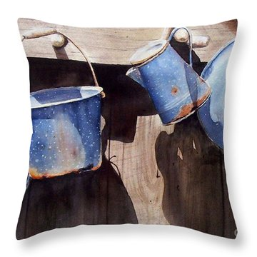 Gone To Pot...sold  Throw Pillow