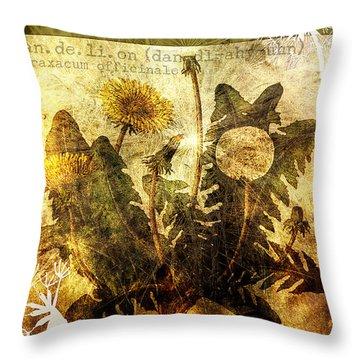Gone Wishin' Throw Pillow by Bonnie Bruno