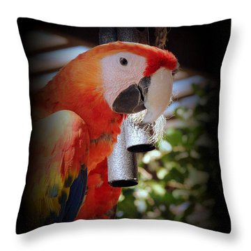 Gong Throw Pillow