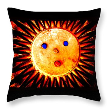 Good Morning America Throw Pillow